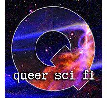 Queer Sci Fi Logo Photographic Print