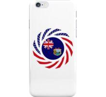 Saint Helena American Multinational Patriot Flag Series iPhone Case/Skin