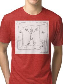 Ted's encounter leads to disastrous consequences Tri-blend T-Shirt