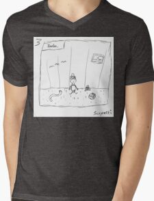 A look into Ted's life before he was held captive Mens V-Neck T-Shirt