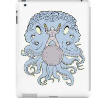 Space Squid Showdown iPad Case/Skin