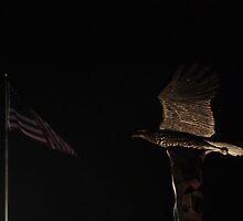 Essex County NJ 9/11 Memorial Eagle by MagicGarden