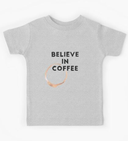 Religious Coffee Kids Tee