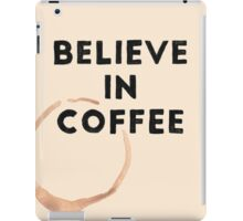 Religious Coffee iPad Case/Skin