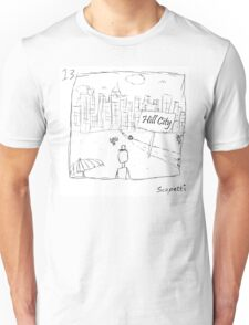 Ted decides to head back to the city Unisex T-Shirt