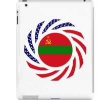 Transnistrian American Multinational Patriot Flag Series iPad Case/Skin