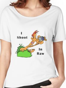 I Shoot In Raw Women's Relaxed Fit T-Shirt