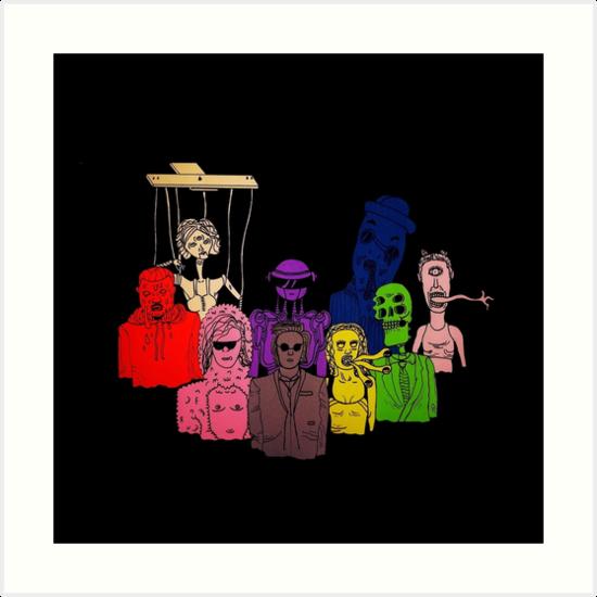 Family Portrait by Michael Blais