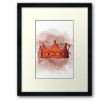 Macbeth's Crown Framed Print