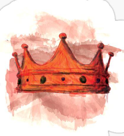 Macbeth's Crown Sticker