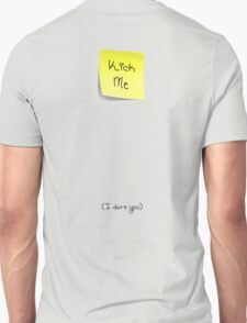 KICK ME (I dare you) Design T-Shirt