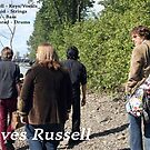 Leaves Russell on the Beach by Benjamin Kaufman