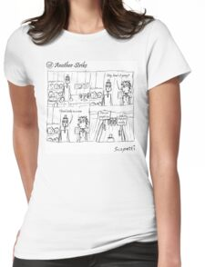 Another Strike Womens Fitted T-Shirt
