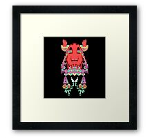 Bloblocks Framed Print