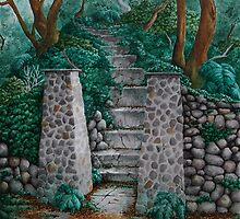 Stairway to Nowhere by ria gilham