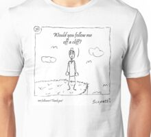 100 followers! Thank you! Unisex T-Shirt