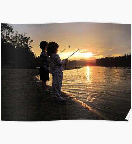 Cousins Fishing Poster