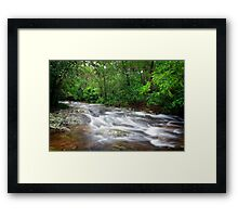 Flowing Creek.... Framed Print