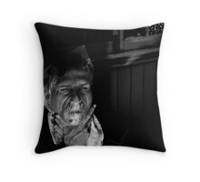 (did you proceed from instinct rather than intellect on that visceral day) Throw Pillow