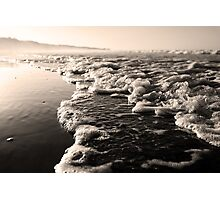 Bubbling In, Mon Repos Beach, Queensland, Australia Photographic Print