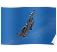 An F-15 Strike Eagle banking Poster