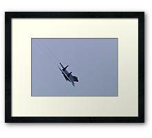 F-15 Strike Eagle Vapor Trails Framed Print
