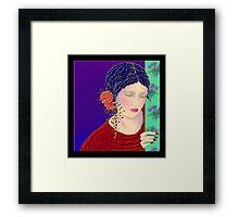 'The Tear' Framed Print