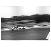 BMW M3 ALMS GT2 Panning Mosport Monochrome Poster