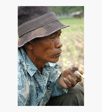 old farmer Photographic Print