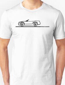 2007 Ford Mustang Convertible T-Shirt