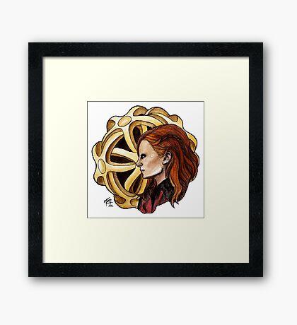 The Amazing Goddess Framed Print