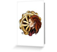 The Amazing Goddess Greeting Card