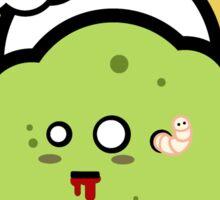 Kawaii Zombie Cloud Shirt: Nom Nom Nom Sticker