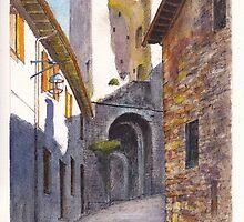 Assisi Ruin by Dai Wynn