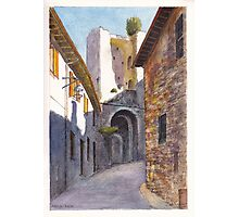 Assisi Ruin Photographic Print