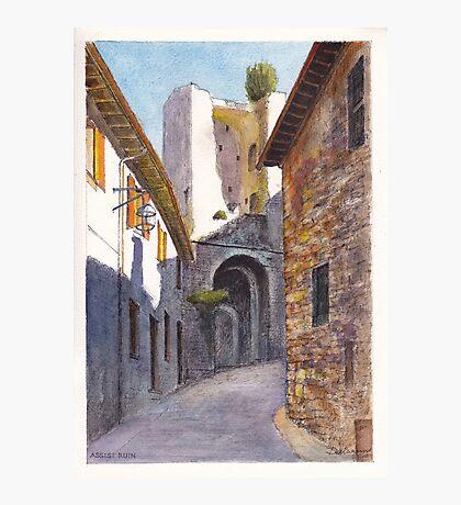 Assisi Ruin Photographic Print