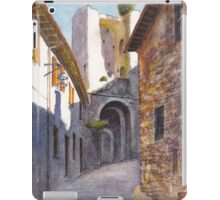 Assisi Ruin iPad Case/Skin