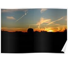 Awesome Sunset  Poster
