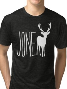 Jone Doe - Deer Tri-blend T-Shirt
