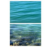 You can see the bottom - Diptych Photographic Print