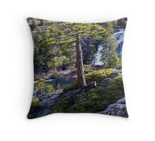 Eagle Creek Falls Throw Pillow