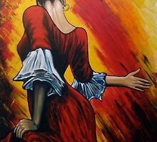 flamenco lady by dave reynolds