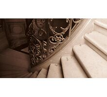 Winding Staircase Photographic Print