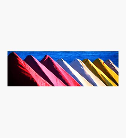 Colors of the Beach Photographic Print
