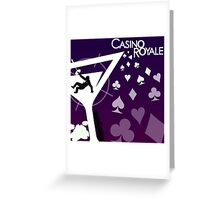 Casino Royale Greeting Card