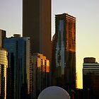 Chicago Sunset by soniarene