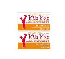 kus kus business card by ikadika