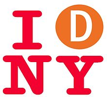 I love the D line subway New York City by hookink
