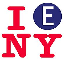 I love the E line subway New York City by hookink