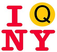 I love the Q line subway New York City by hookink